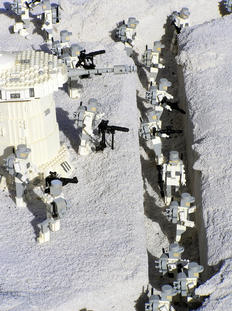 Trench warfare Star Wars style