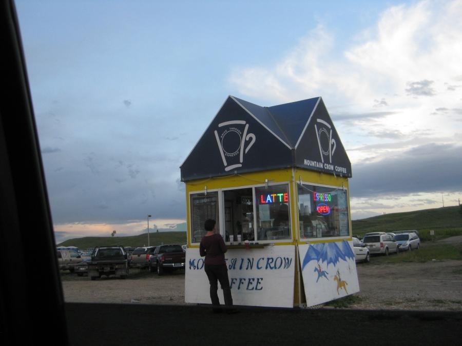 Mountain Crow Coffee Stand