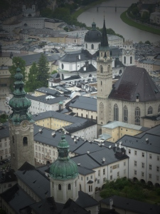 Salzburg's glorious architecture.