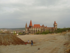 Did I mention a quarry was developed next to the castle?