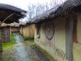 The Neolithic village.