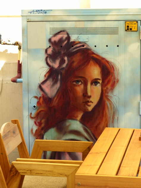 Electrical boxes are no longer unsightly, but serve as a canvas for creativity.