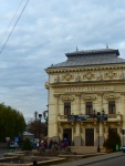 National Theater in the small town of Caracal.