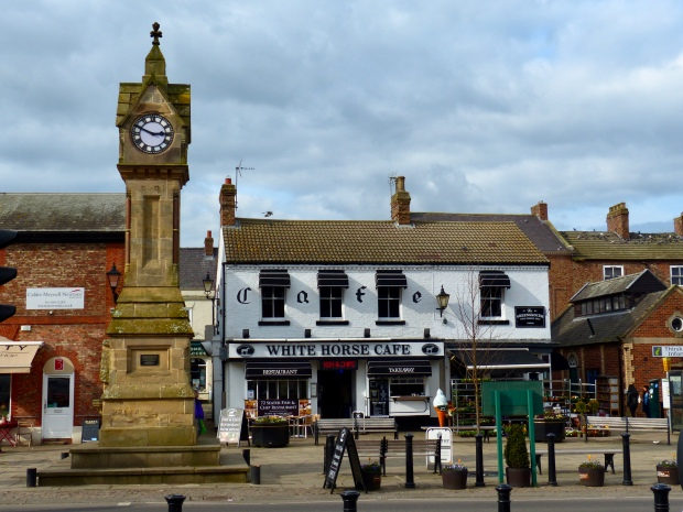 Thirsk, a stone's throw from the museum.