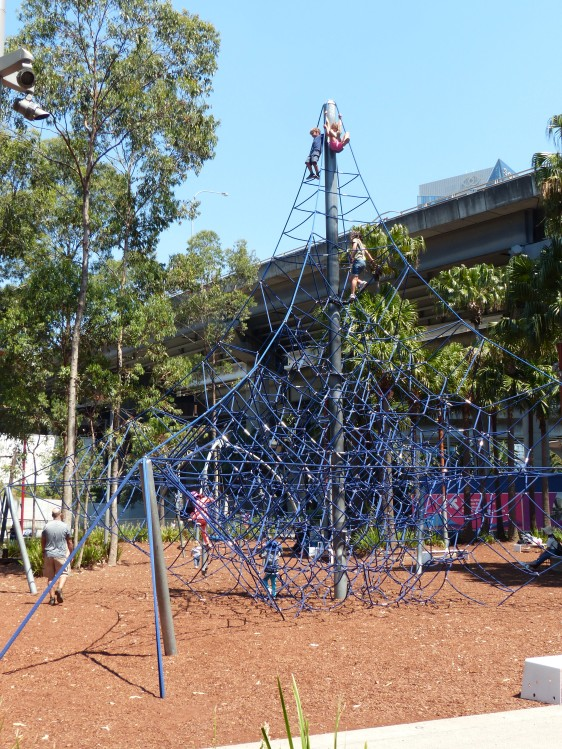 Tumbalong Park Playground, near Darling Harbour