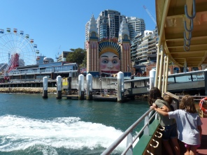 Luna Park from Milsons Point Whart